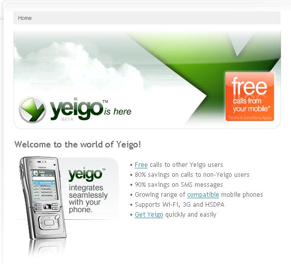 yeigo mobile voip provider
