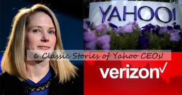 6個經典CEO,看出Yahoo慘淡收場的原因!