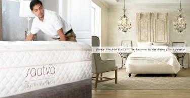 網上售賣床墊初創公司「Saatva」,只花5年已經達到年營收1.8億美元
