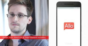 【安全疑雲】斯諾登稱不要使用Allo,並且指它是Google和美國政府設下的誘餌
