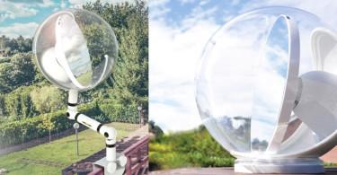 【綠能產品】利用日照反射的太陽能照明裝置,無需任何電力就能夠採納自然陽光