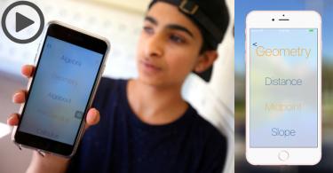 【自救功課】這個16歲少年為補救自己不懂的數學功課,編寫了手機程式自救