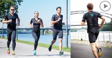 【穿戴式產品】鍛煉20分鐘相等於運動3小時,強化效能的智能運動衣Antelope