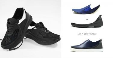 【全球首款】鞋面和鞋底可隨意更換的模組式鞋子,旅行帶80對鞋子都沒問題