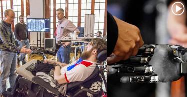 【科研突破】脊髓受損患者透過機器人手臂,重拾他的觸覺訊號