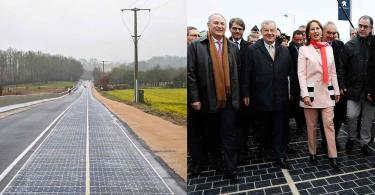 【再生能源】法國啟用世界首個太陽能板公路,成效卻受到外界詬病