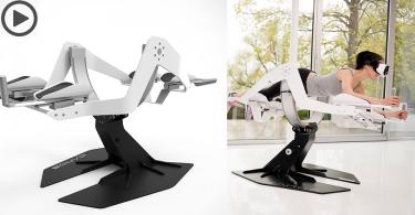 【讓VR飛起來】Icaros飛行平台,躺下就可飛越VR世界