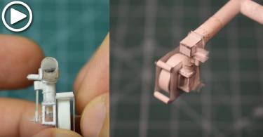 【人人也是工程師】全紙製迷你引擎,你我也可輕鬆製出