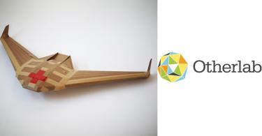 【即棄無人機】卡紙製無人機ICARUS,運送完成即消失殆盡