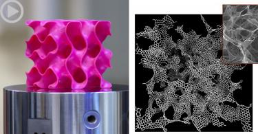 【比鋼強10倍】麻省理工學院參考石墨烯薄片結構,3D打印全新輕量堅固材料