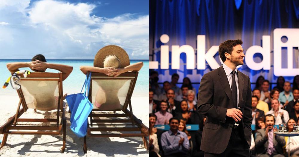 【超狂老闆】LinkedIn每年將全公司關閉2星期,帶領員工休假不工作新趨勢