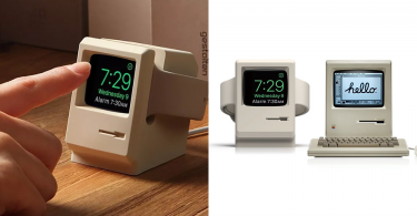 【重拾回憶】Elago W3錶座讓你的 Apple Watch化身微型麥金塔