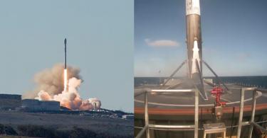 【重新出發】SpaceX火箭「獵鷹9號」發射及回收成功,成功部署十枚通訊衛星