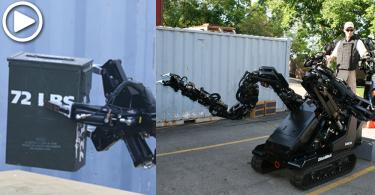 【手臂延伸】強勁臂彎機械人,完成人類「不可能」任務