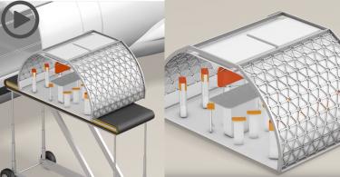 【飛行新體驗】空中巴士概念模組式機艙,為飛行帶來全新體驗