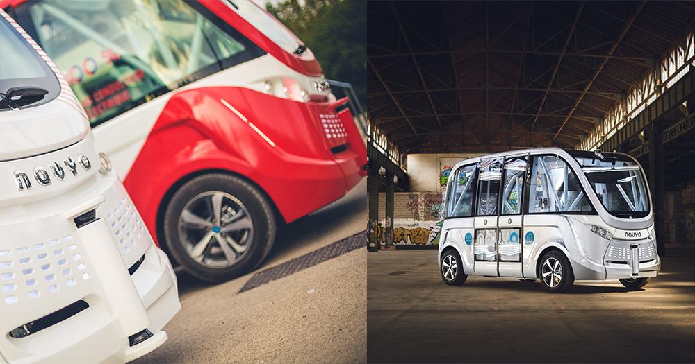 【自動電力車】拉斯維加斯首用無人自駕巴士,零碳排量更環保