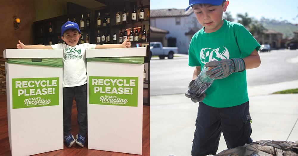 【童心壯志】7歲男孩創業救地球,回收逾20萬膠樽更捐掉部份盈利