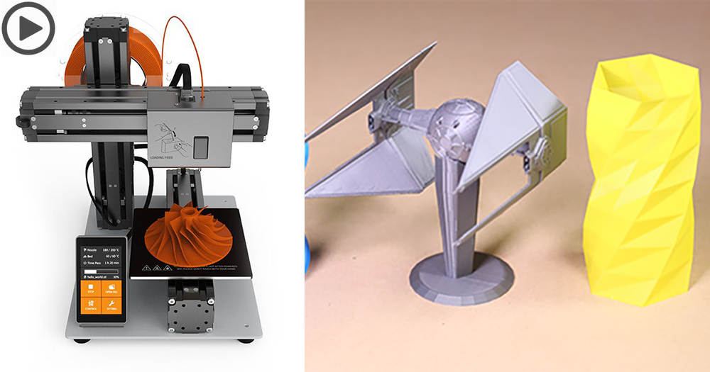【變形Printer】三合一模組式3D打印機,隨時變身CNC、激光切割機