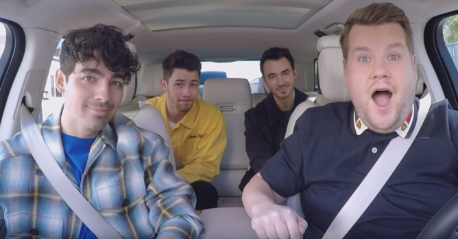 Jonas Brothers, James Corden - Carpool Karaoke