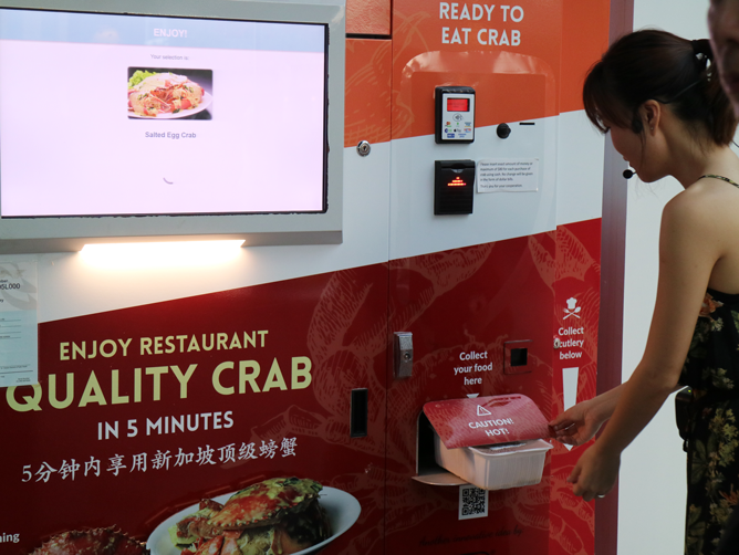 Crab Vending Machine