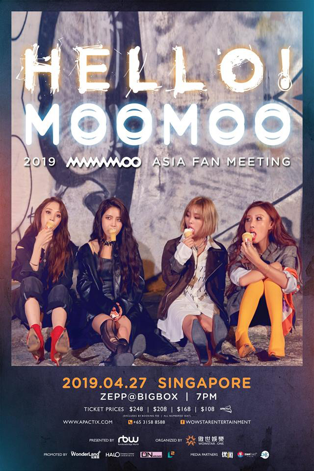 MAMAMOO 2019 HELLO! MOOMOO Asia Fan Meeting in Singapore