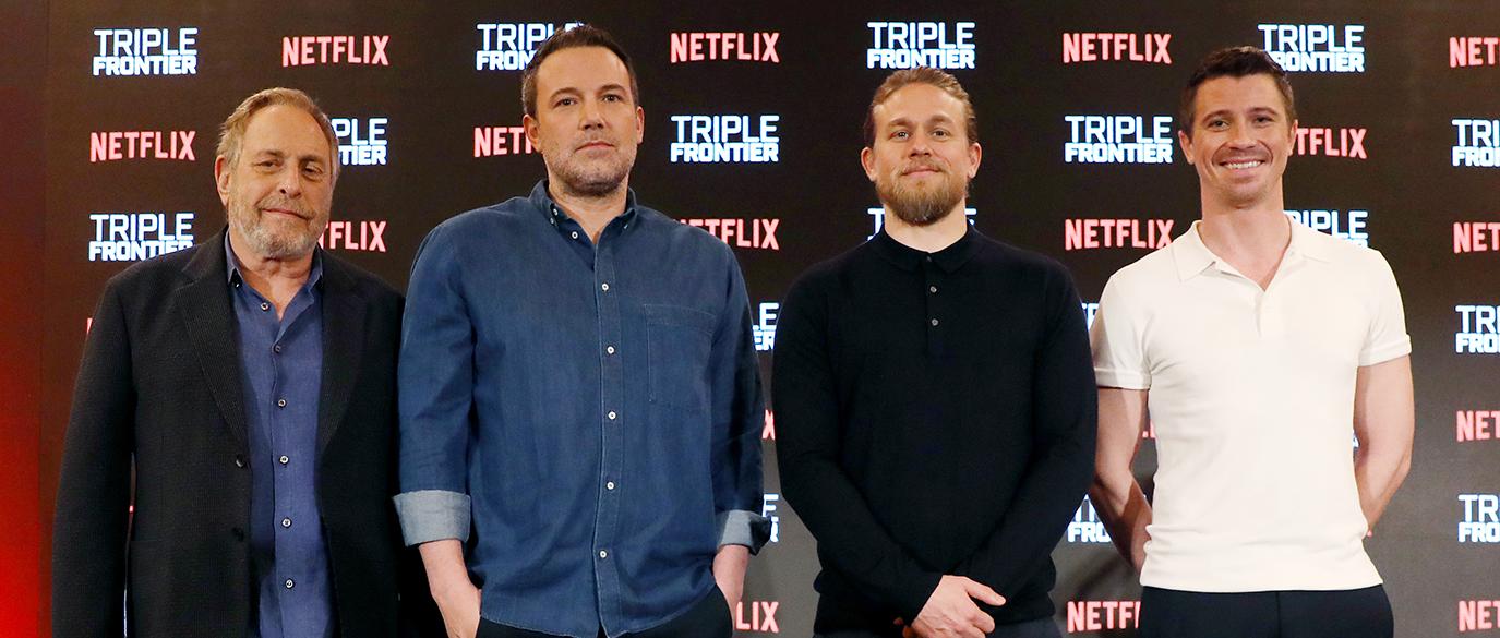 Netflix Triple Frontier Singapore