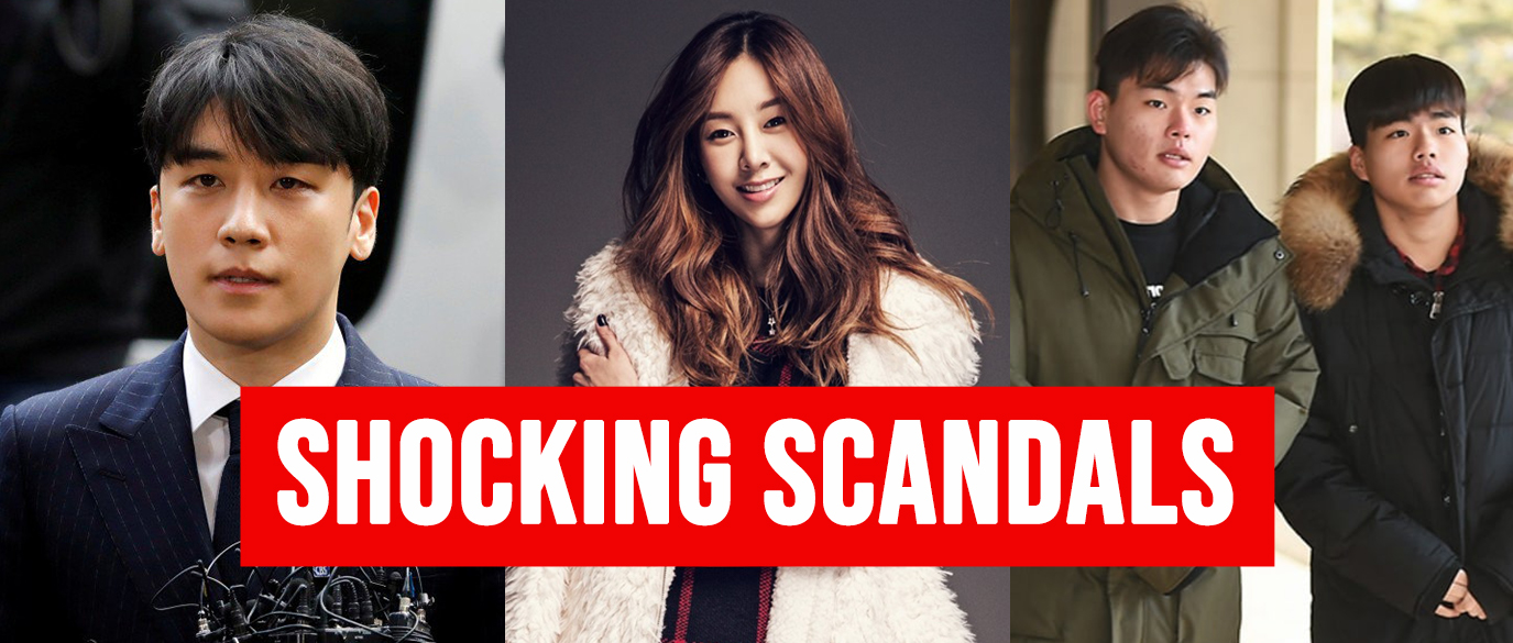 Top K-pop Scandals
