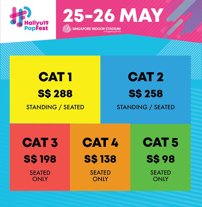 HallyuPopFest 2019 - Ticket Categories copy