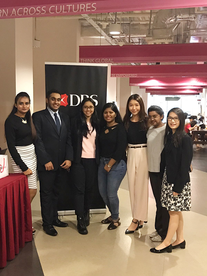 At this career chapter networking event, DBS staff were invited to share professional know-hows on how students can better prepare for their interviews and what they can expect in the banking sector.