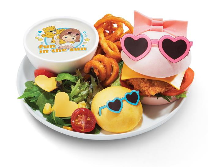 Fun-in-the-Sun Chicken Katsu Burger