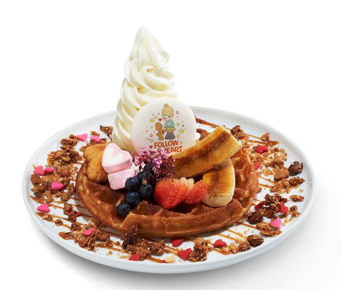 Follow Your Heart Caramel Waffles