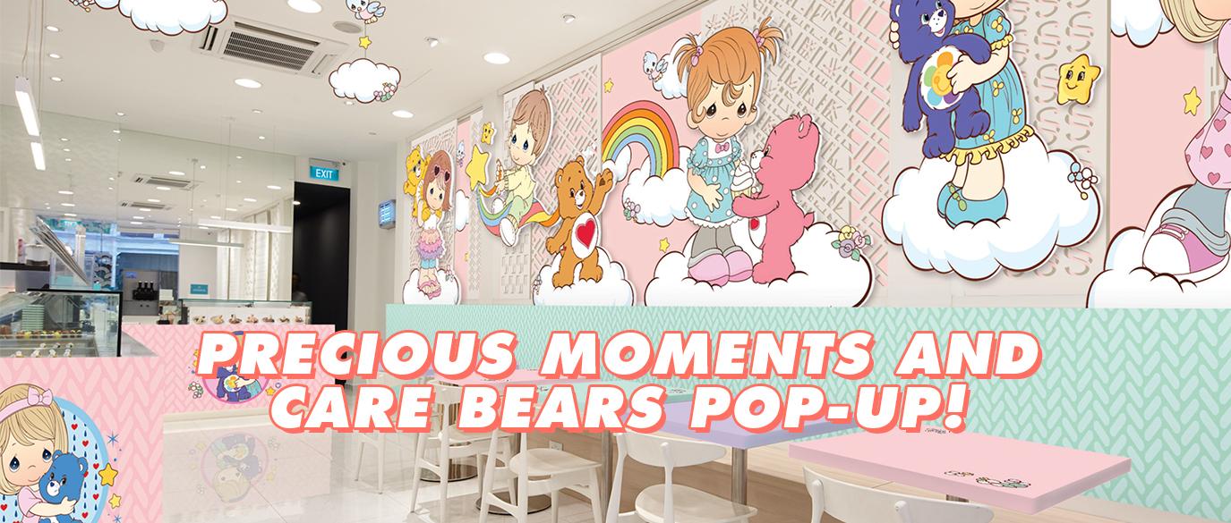 Precious Moments x Care Bears Pop-Up Cafe Singapore