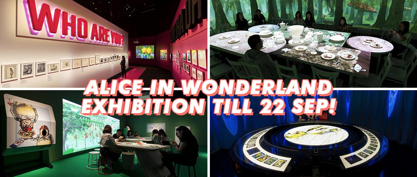 Alice in Wonderland ArtScience Museum