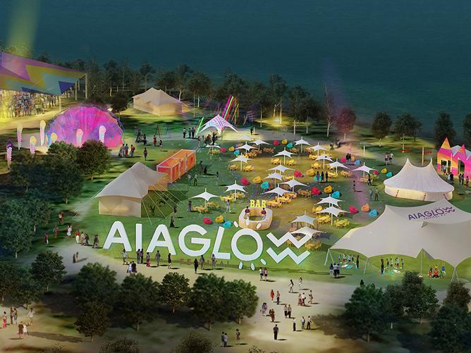 AIA Glow Festival