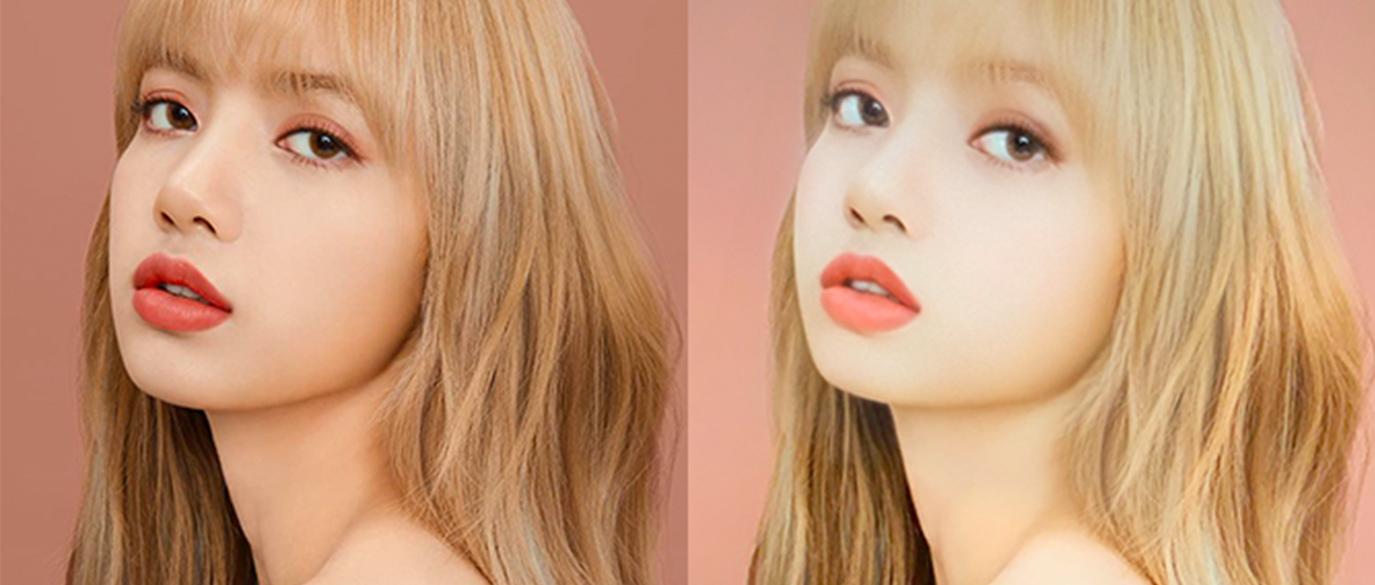 Snapchat Baby Filter K-pop Idols