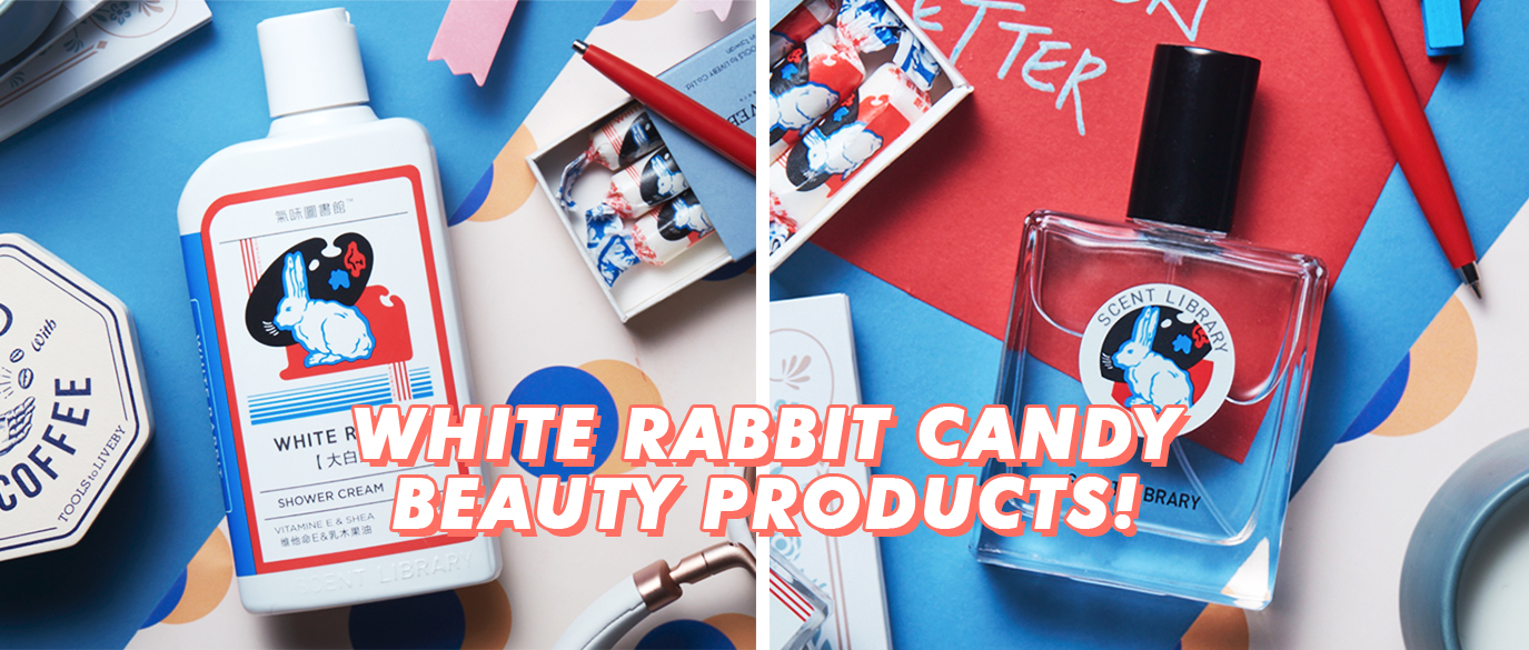 White Rabbit Candy Beauty Products Taobao Tmall
