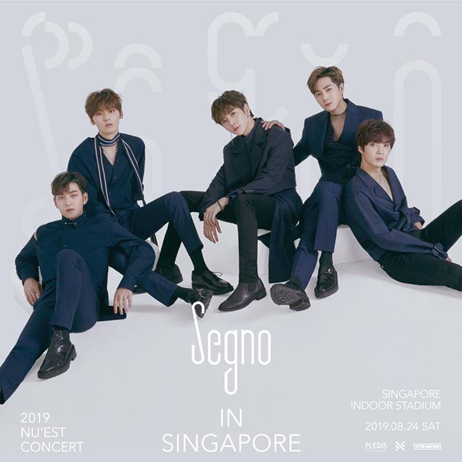 2019 NU'EST CONCERT Segno In Singapore