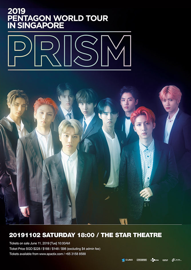 PENTAGON WORLD TOUR <PRISM> Live in Singapore