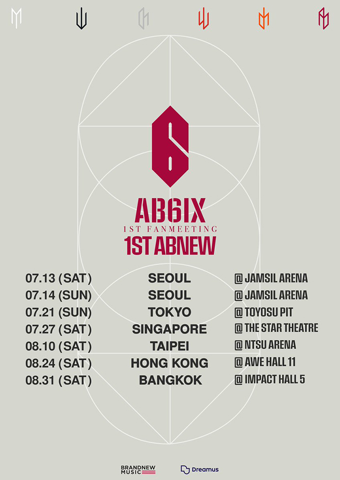 AB6IX 1st Fanmeeting 1st ABNEW Singapore 2019