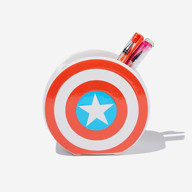 Marvel Pen Holder, $17.99, Typo