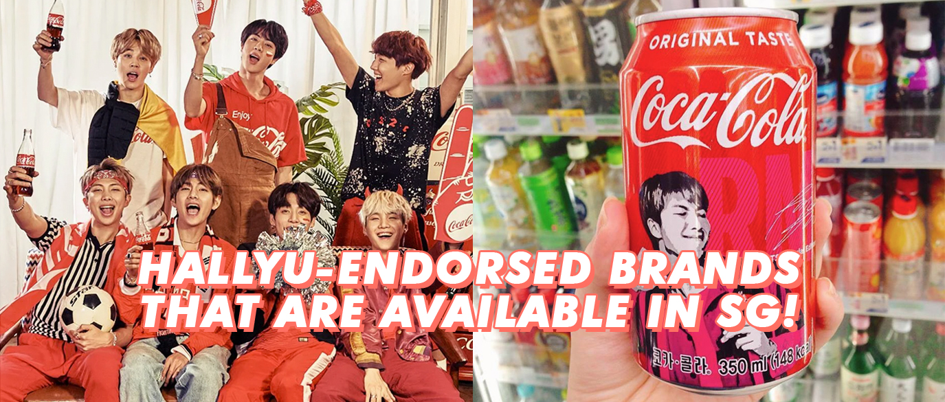 Kpop Idol Endorsed Snack Brands Available In Singapore