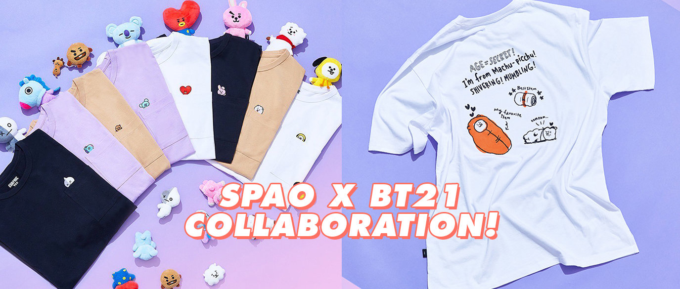 SPAO X BT21 Collaboration 2019
