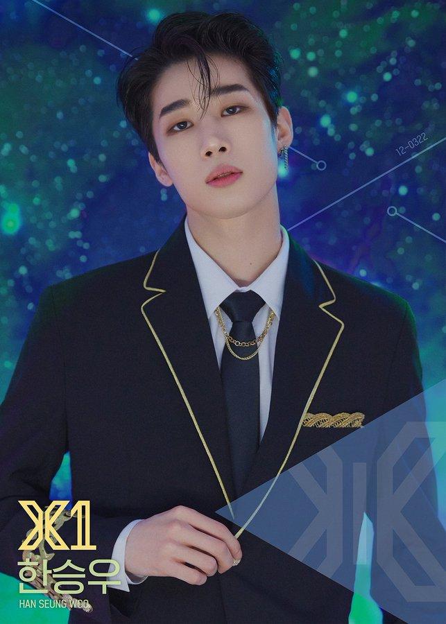 Produce X 101 Han Seung Woo