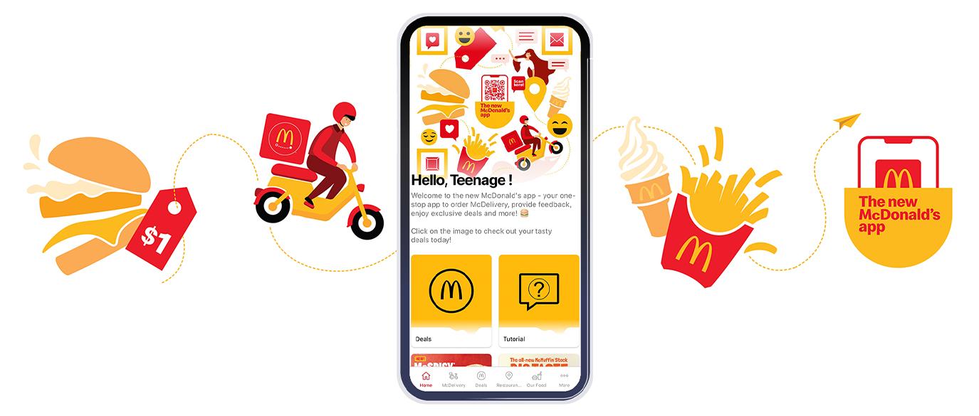 New McDonald's App $1 Filet-O-Fish