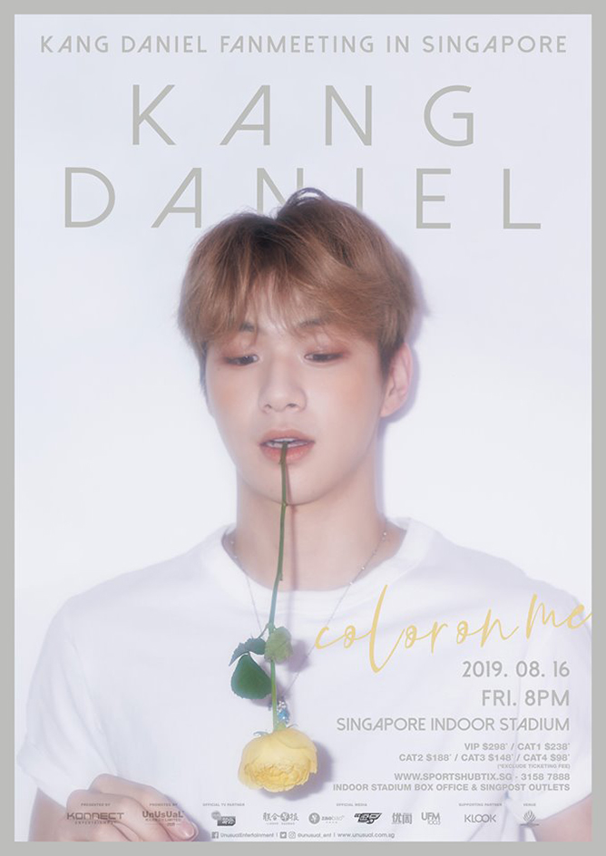 Kang Daniel Fanmeeting In Singapore 2019