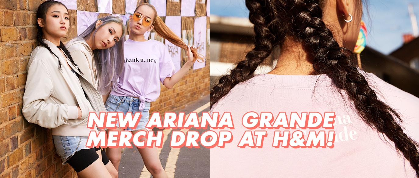 H&M Ariana Grande Sweetener World Tour Collection Singapore
