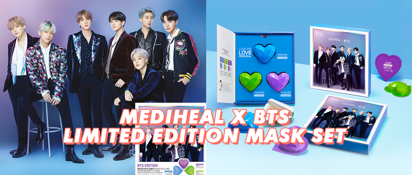 Mediheal Bio Capsulin Love Me Mask Set BTS Global Edition Collaboration