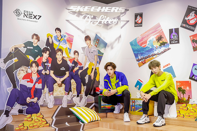 NEXT at Grand Opening of Skechers Jewel Changi Airport Store (4)