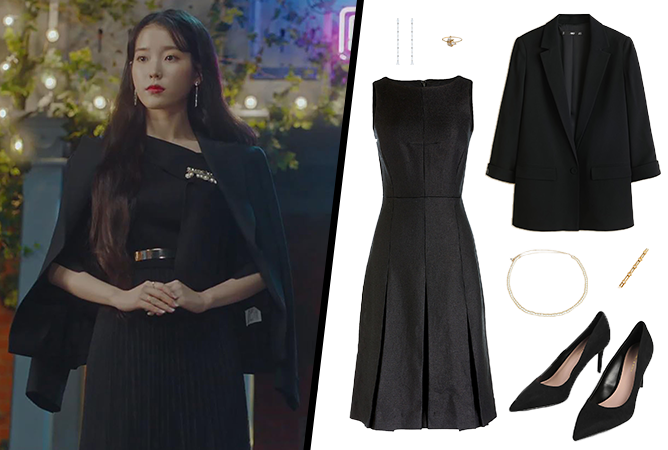 Hotel-Del-Luna-IU-Outfit-04-Black-Outfit