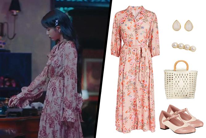 Hotel-Del-Luna-IU-Outfit-05-Floral-Dress